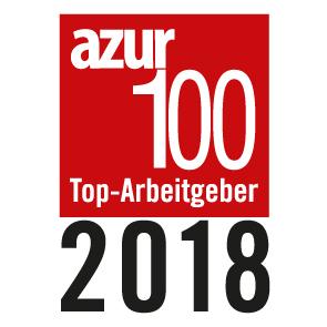 Top-Arbeitgeberlogo azur100